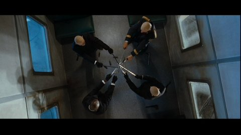 Hitman Agent 47 Sword Fight