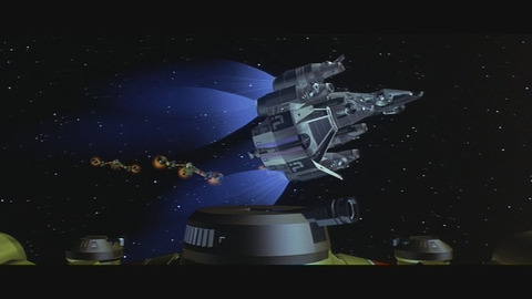 Last Starfighter Cgi Battle
