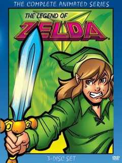 Legend of Zelda Animated Series Cover