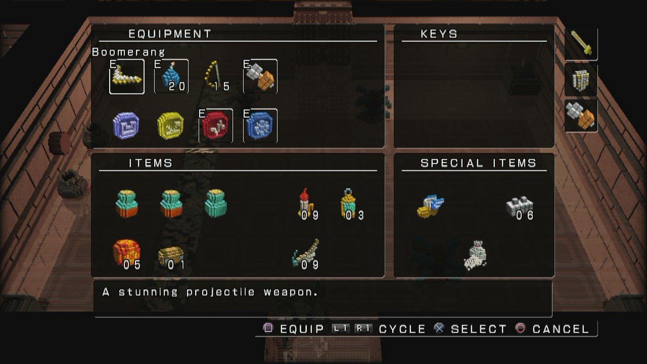 Desert Temple Sage? - 3D Dot Game Heroes