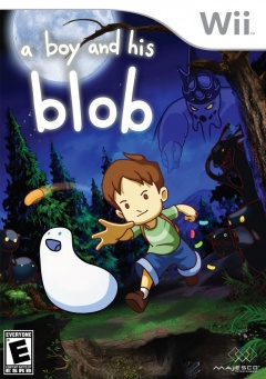 a boy and his Blob Cover
