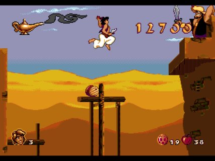 Aladdin Boss Barrel Rolling Knife Tossing
