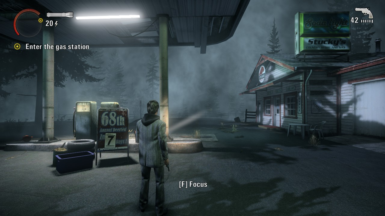 Alan Wake gas Station pc