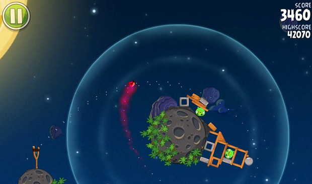 Angry Birds Space Gravity