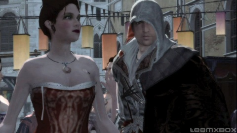 Assassins Creed 2 Ezio Cristina Vespucci