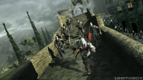 Assassins Creed 2 Ezio run Away