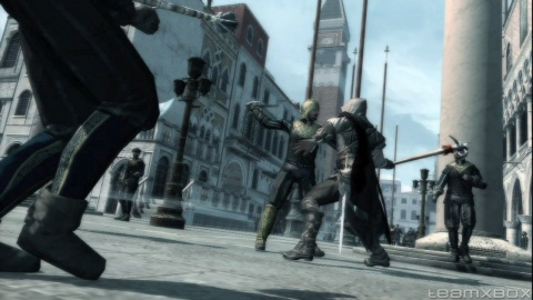 Assassins Creed 2 Ezio Street Battle