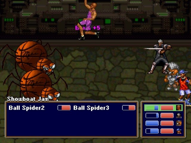 Barkley Shut up and jam Gaiden Battle