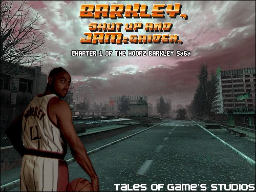 Barkley Shut up and jam Gaiden Cover