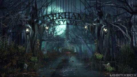 Batman Arkham Asylum Gate