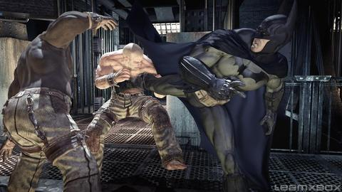 Batman Arkham Asylum Thug Fight