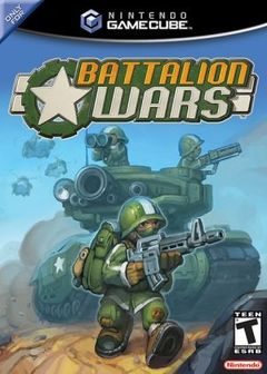 Battalion Wars Cover