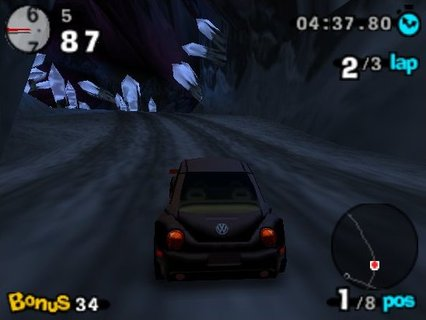 Beetle Adventure Racing Crystal Cave