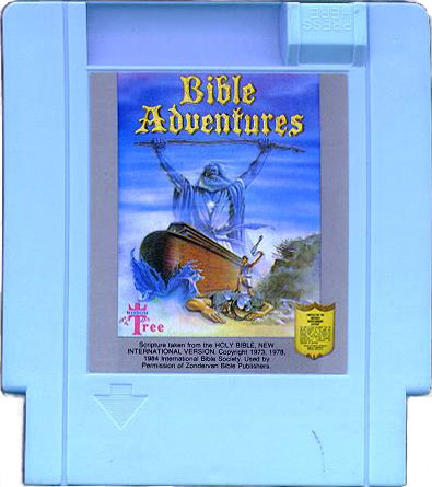 Bible Adventures Cartridge