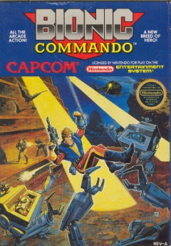 Bionic Commando Cover