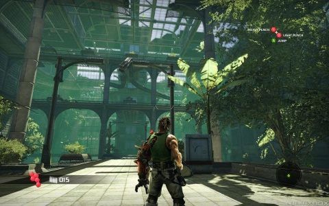 Bionic Commando Xbox 360 Hero Trees