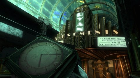 Bioshock 2 Andrew Ryan Amusements Entrance