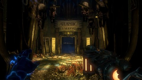 Bioshock 2 Atlantic Express Entrance