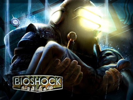 Bioshock Big Daddy Little Sister Art