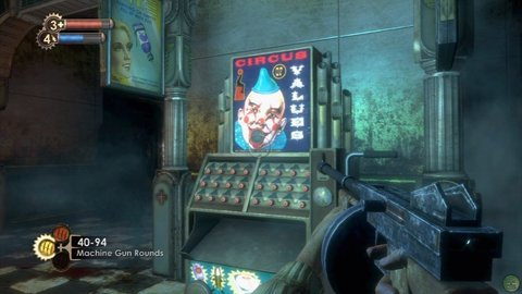 Bioshock Machine Gun Vending Machine Clown