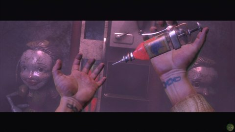 Bioshock Plasmid Electro Bolt Needle Injection