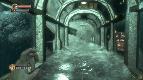 Bioshock Tunnel Water Rushing In
