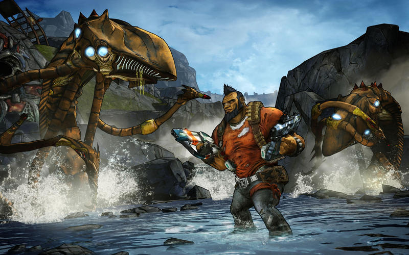 Borderlands 2 Gunzerker River Threshers