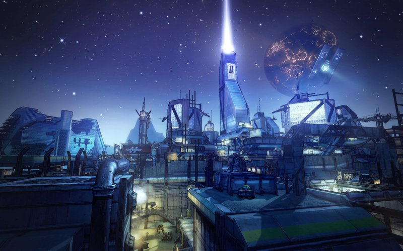 Borderlands 2 Hyperion City