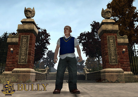 Bully Jimmy Bullworth Entrance