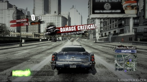 Burnout Paradise car Damage Critical