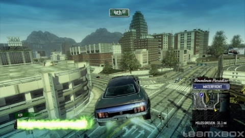 Burnout Paradise Huge Jump