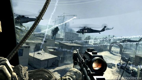 Call Of Duty 4 Marines Helicopters Rpg