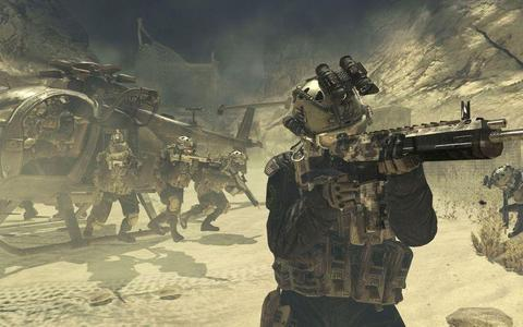Call Of Duty Modern Warfare 2 Afghanistan Army Rangers