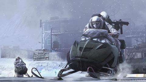 Call Of Duty Modern Warfare 2 Snowmobile