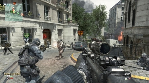 Call of Duty Modern Warfare 3 Paris
