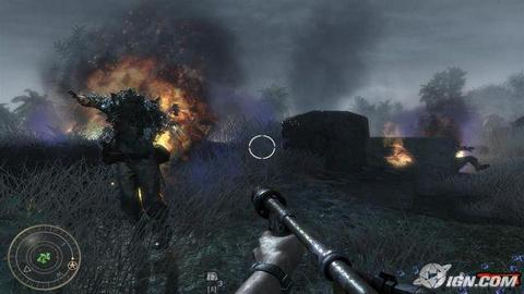 Call Of Duty World At War On Fire