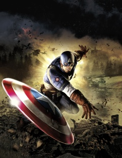 Captain America Super Soldier art