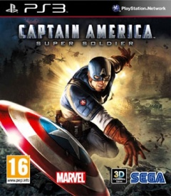 Captain America Super Soldier Cover