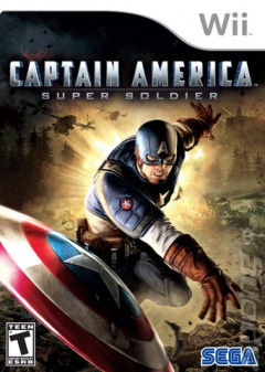 Captain America wii Cover