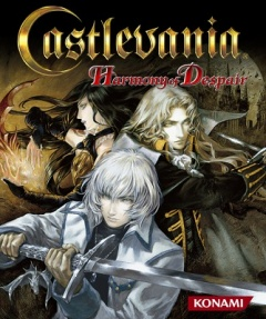 Castlevania Harmony of Despair Cover
