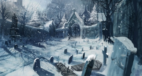Castlevania Lords of Shadow Snow
