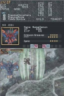 Castlevania Order of Ecclesia Absorb