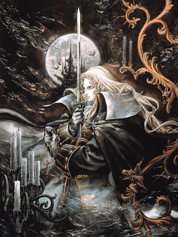 Castlevania Symphony Of The Night Alucard Art
