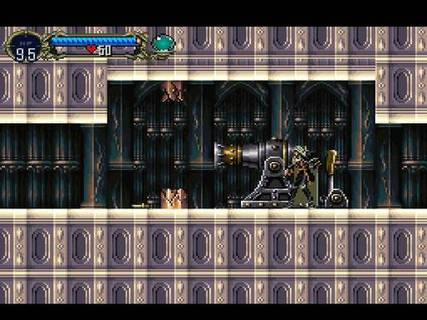 Castlevania Symphony Of The Night Alucard Cannon