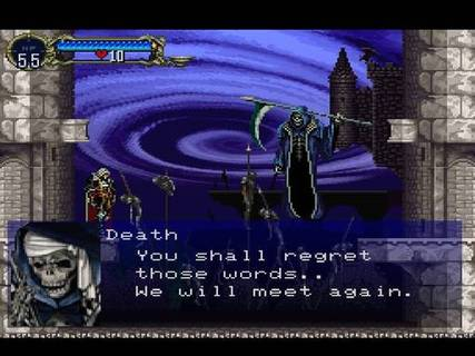 Castlevania Symphony Of The Night Alucard Death