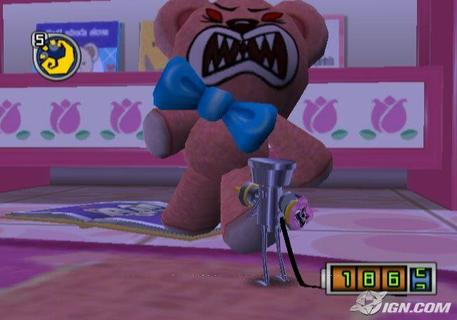 Chibi Robo Killer Teddy Bear