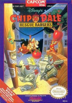 Chip And Dale Rescue Rangers Cover