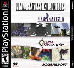 Chrono Trigger PlayStation cover Final Fantasy Chronicles