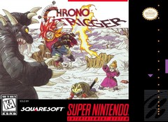 Chrono Trigger Cover Snes