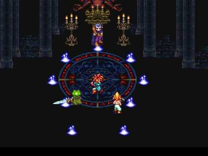 Chrono Trigger Magus Fight